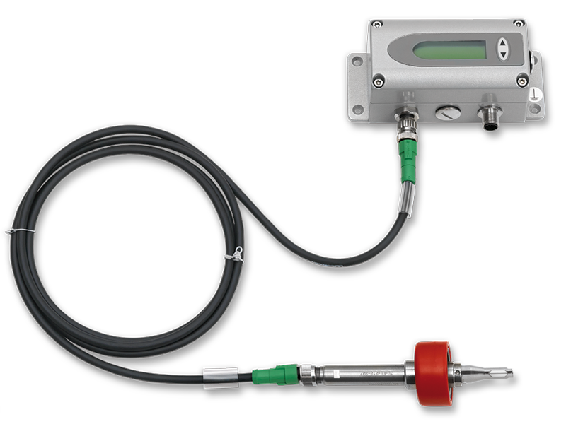 EE771 flow meter with remote probe